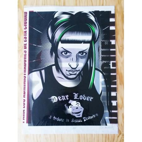 Gaby - Silk-screen print
