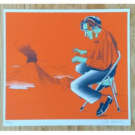 Melero - Silk-screen print