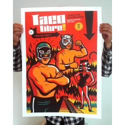 Taco Libre! - Silk-screen print