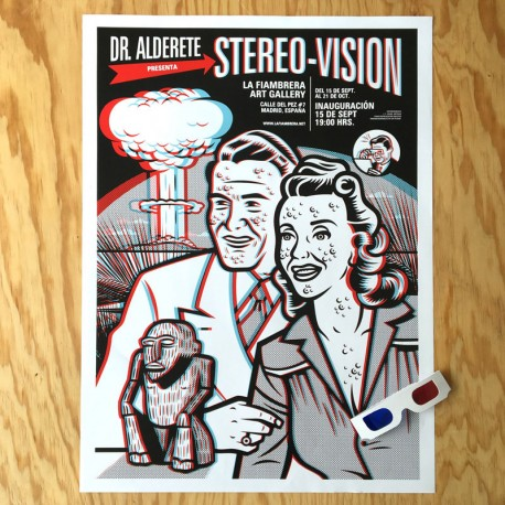Stereo-Vision 3D - Offset poster