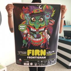 FIRN Frontignan - Offset poster