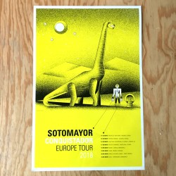 Sotomayor - Conquistador Europe Tour 2018 - Offset poster