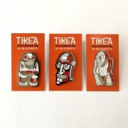 Set of 3 Pins Tikea by nickel