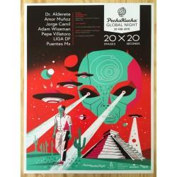 Sonido Gallo Negro - Fin Del Mundo Tour 2012 - Offset poster