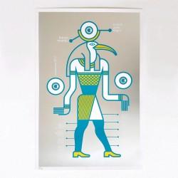 Sonido Gallo Negro - Trance Mambo - Silk-screen print