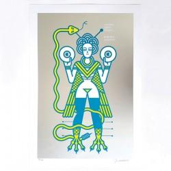 SGN Mambo cosmico - Silk-screen print