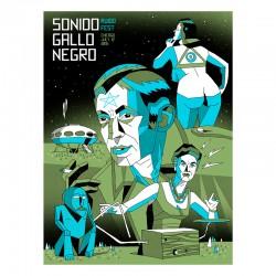 SGN Ruido Fest - Silk-screen print