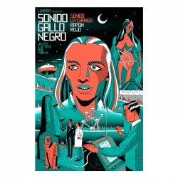 SGN Lunario - Silk-screen print