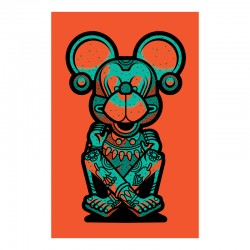 Mickey Alien - Silk-screen print
