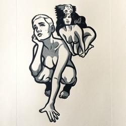 Tikea - Carpeta con 12 Serigrafías