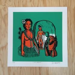 Paquete especial 2 Serigrafías Kustom Festival