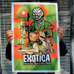 Exotic - Silk-screen print