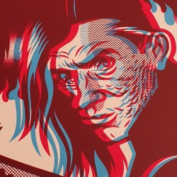 The Cramps 3D - Silk-screen print