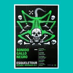 Offset poster - Esqueletour...