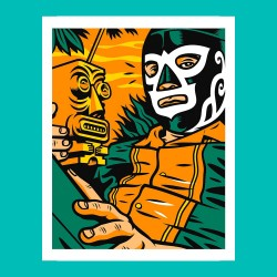Acapulco Tiki - Silk-screen...