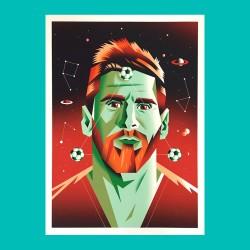 Viva Messi - Giclée