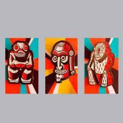 Set of 3 Pins Tikea