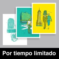CDMX Prints promo - Giclée