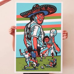 Homenaje a Maradona -...