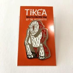 Pin Tikea modelo 2 de nickel