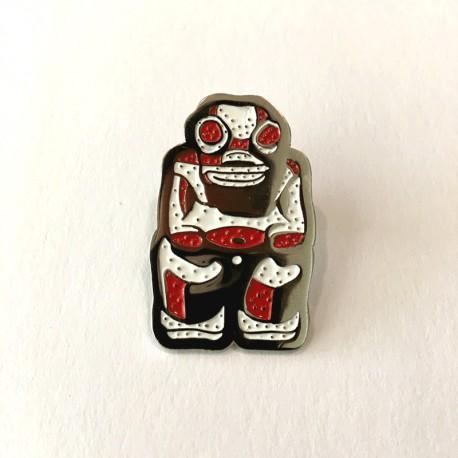 Pin Tikea model 3 of nickel