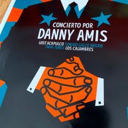 Concierto por Danny Amis - Offset Póster